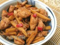 醬醃蘿蔔炒雞肉
