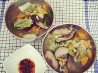 [清冰箱] 簡易午餐~家常麵
