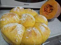 南瓜煉奶餐包