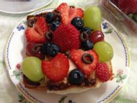 水果棉花糖吐司