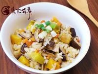 【鹿窯菇事】南瓜香菇炊飯