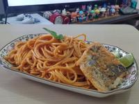 紅咖哩魚柳燴意粉