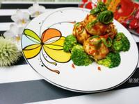 茄汁雞肉丸~蕃茄醬懶人料理