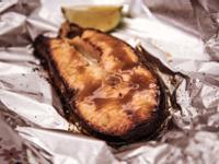味增醬烤鮭魚