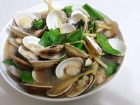 簡易10分鐘上菜:清炒蛤蠣