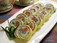 蛋皮花壽司