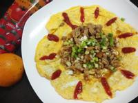 無鹽料理─茄香哨子蛋-蕃茄醬懶人料理