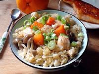 鮭魚菇菇炊飯(電鍋版)