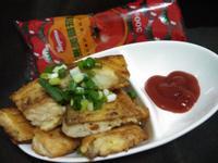 蛋煎魚片-蕃茄醬懶人料理