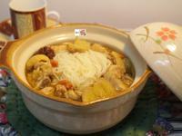 麻油雞湯&麵線