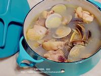 蒜味蛤蜊鮮雞湯