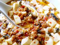 素食版醬瓜麻婆豆腐