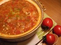 香甜梅花豬蕃茄湯_番茄醬懶人料理