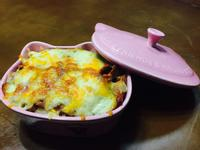 可愛焗烤義大利麵