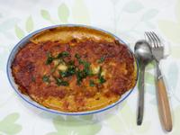 焗烤茄汁肉醬千層麵(餛飩皮)