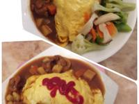 咖哩雞蛋包飯(全聯料理王大賽)