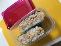 鮪魚起士蛋飯糰