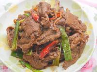 薑絲炒牛肉