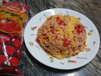 番茄蛋炒飯_蕃茄醬懶人料理