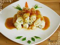 燒茄汁高麗菜捲