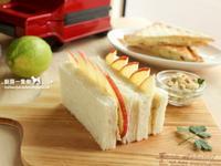 培根醬蘋果三明治
