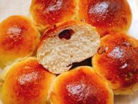 蔓越莓橘子小餐包(中種法)