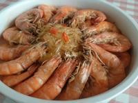 麻油粉絲蝦