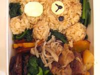 [Jasmine便當] 懶熊馬鈴薯燉肉便當