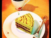 宇治紅豆抹茶蛋糕