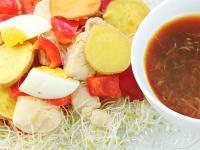 【厚生廚房】地瓜雞肉溫沙拉