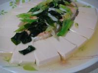 清蒸味噌鮭魚豆腐