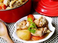 馬鈴薯燉雞(無油版)