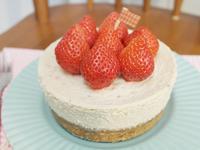 簡單做「草莓起士蛋糕」邂逅甜蜜小確幸 ❤