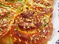 抹茶栗子麵包卷