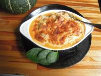 鮪魚紅蘿蔔醬焗烤