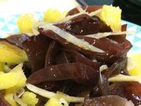 開胃菜-涼拌鳳梨黑木耳