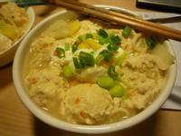 .゚+:✿。.留學生食譜の味噌雞肉丸子烏龍麵.゚+:✿。.゚