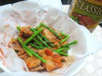 茄麵醬快炒梅花肉-CLASSICO義麵醬