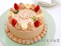 香蕉草莓蛋糕