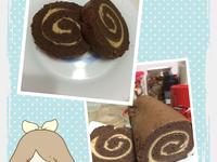 巧克力花生蛋糕捲