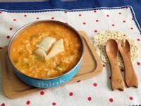 寶副食❤️南瓜鱈魚起司粥