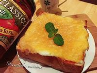 焗烤蕃茄太陽蛋吐司CLASSICO義麵醬