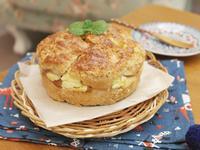 簡單易做「蘋果起士蛋糕」♡巨無霸司康!?
