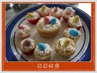 復活節起士小蛋糕