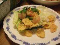 營養滿分蝦鬆~雀巢玉米脆片