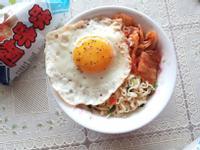韓式泡菜蔥油拌麵【記憶中的味味麵】