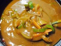 青椒牛肉咖哩