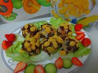 海苔肉鬆脆片小飯糰『雀巢玉米脆片』
