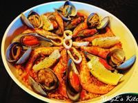 西班牙海鮮飯Seafood Paella