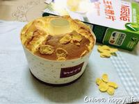 玉米脆片牛奶戚風蛋糕-雀巢玉米脆片